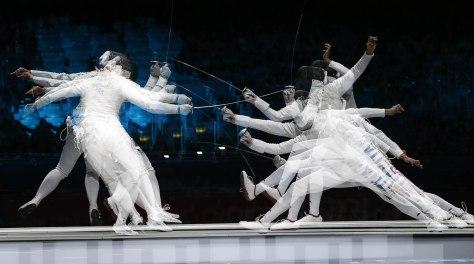 LONDON 2012 Olympic games, August 2 2012, Elisa Di Francisca Fioretto squadre. scherma Pentaphoto, Alessandro Trovati