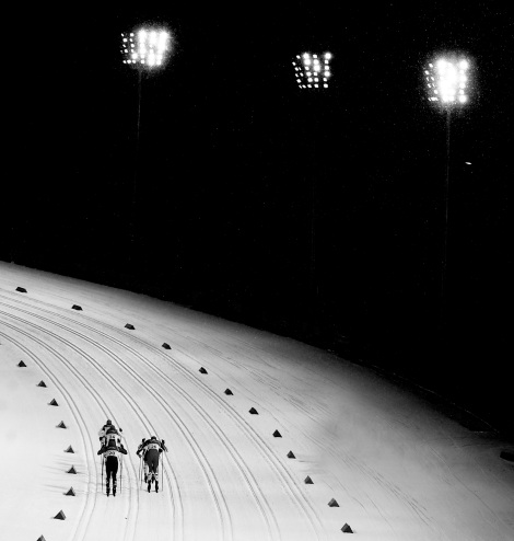 Olympics Winter Games PyeongChang 2018, Men's Sprint Classicm Pursuit, Silver Medalist Italy's Federico Pellegrino, Alpensia, Cross Country Centre (KOR), Photo Giovanni Auletta, Pentaphoto