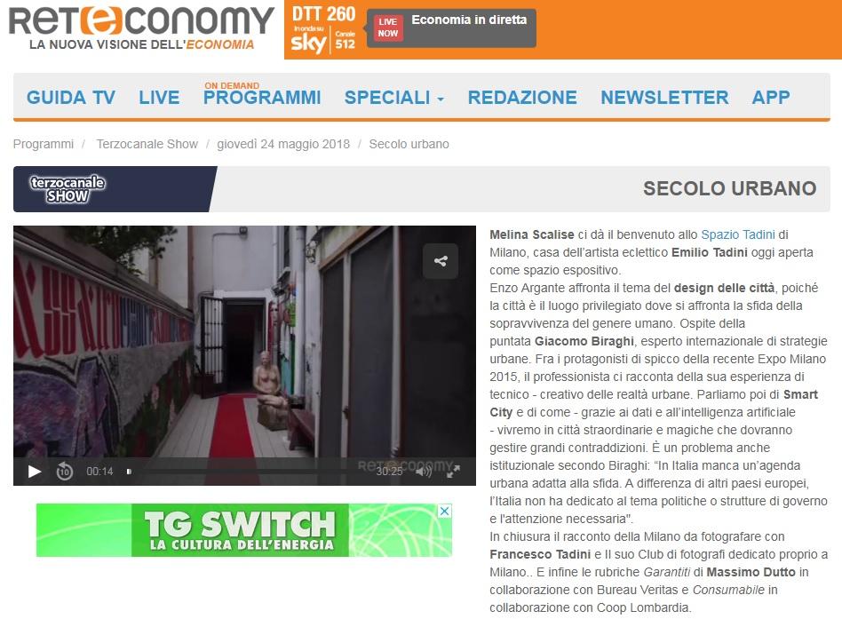 Vedi Reteconomy Secolo Urbano puntata registrata alla Casa Museo dedicata ad Emilio Tadini e ne racconta la storia