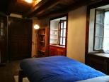 una delle stanze dell'appartamento al piano primo