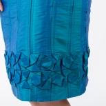 Daniela Cilurzo dettaglio gonna origami