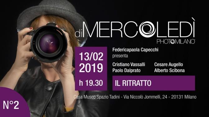 Ritratto fotografico: diMercoledì a Spazio Tadini, 13 febbraio 2019
