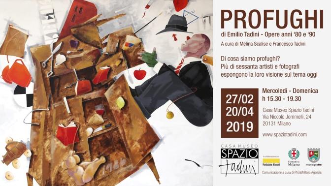 Emilio Tadini, Profughi: dal 27 febbraio al 20 aprile 2019