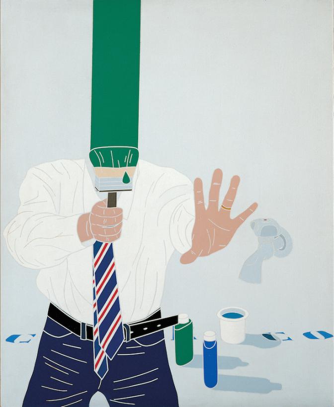 Emilio tadini 1967-1972 alla Fondazione Marconi