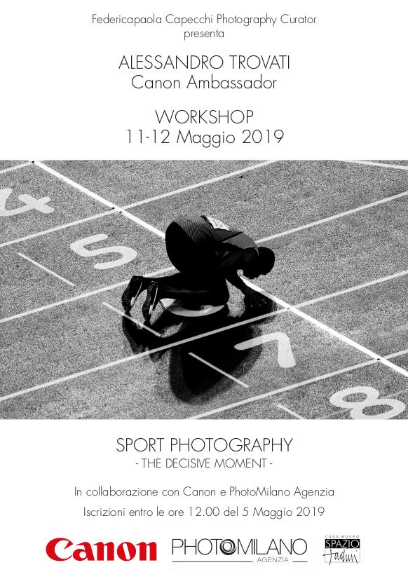 Fotografia sportiva: alessandro trovati workshop
