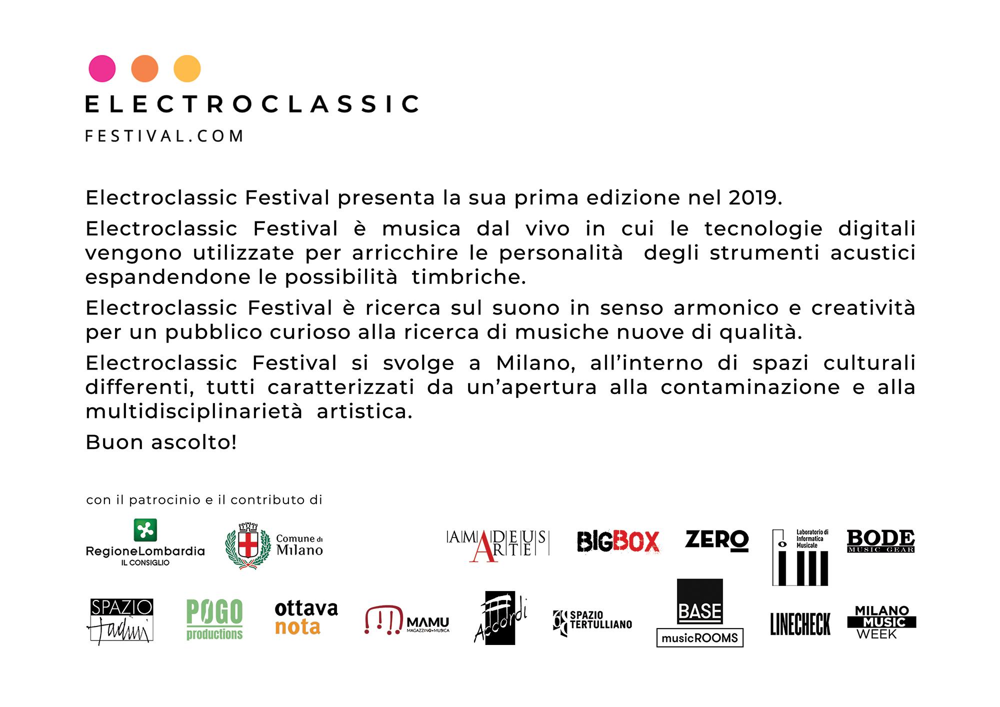 Electroclassic festival alla casa museo spazio tadini