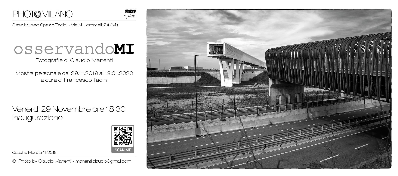 Claudio Manenti e la sua visione di milano in mostra dal 29 novembre 2019