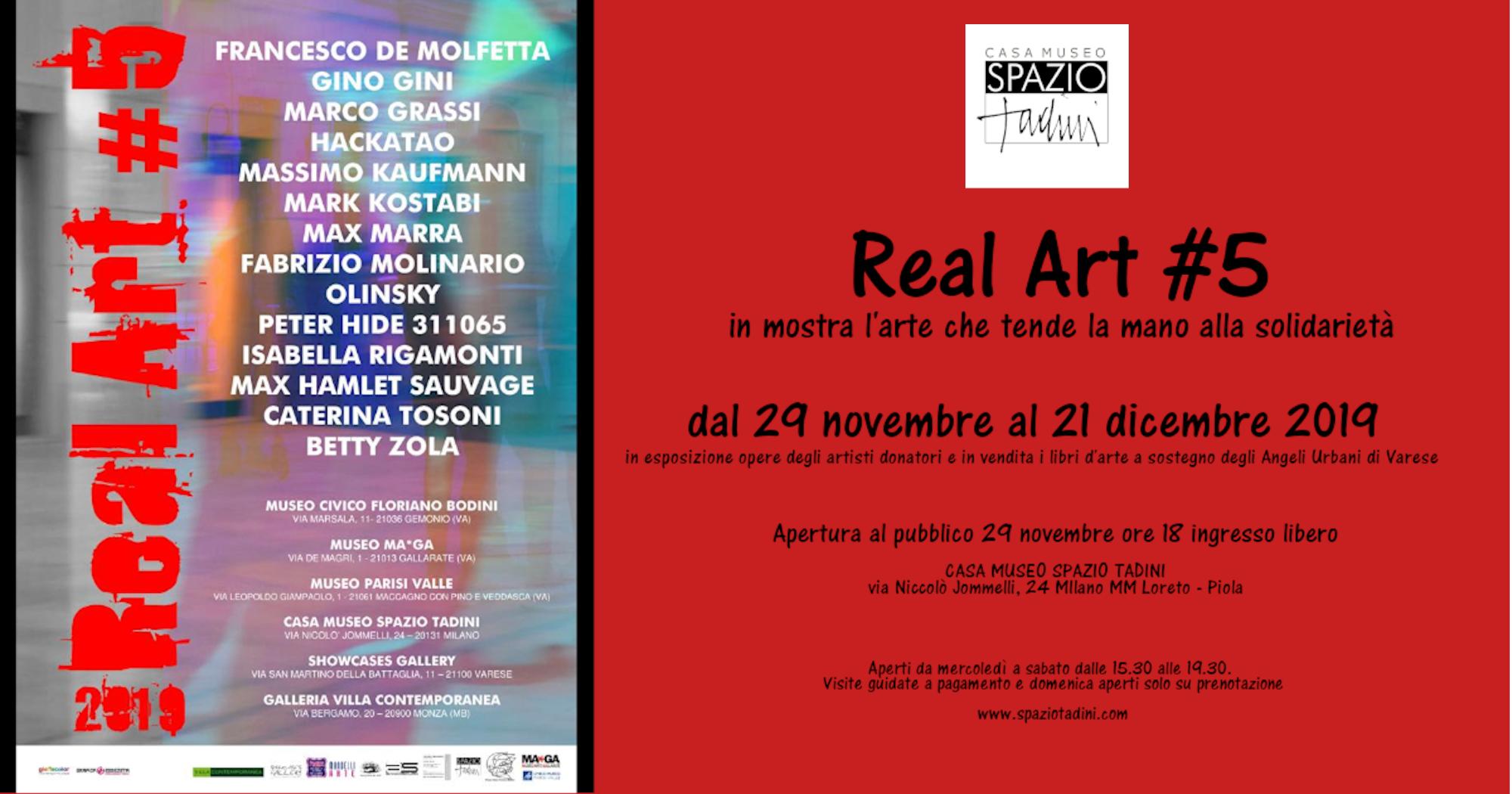 REAL ART: l'arte per la solidarieta'