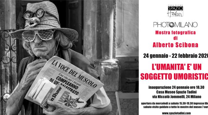 Fotografia di Alberto Scibona L'umanità è un soggetto umoristico